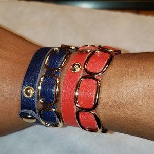 Sold separately 2 leather bands bracelet